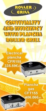 Convivialité et efficacité avec les planchas Roller Grill