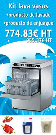 Gafas Kit de lavado + detergente + aclarado