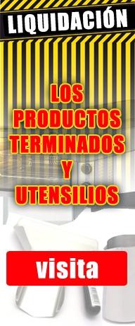 Depuración de los productos terminados y utensilios