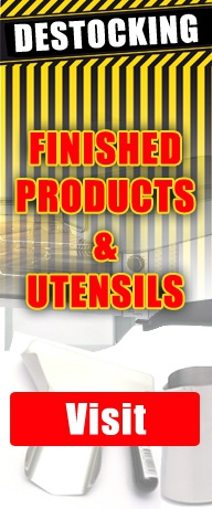Clearance finished products & utensils